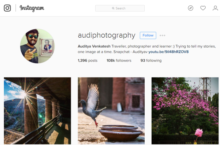 2016-07-08 13_59_03-Auditya Venkatesh (@audiphotography) • Instagram photos and videos